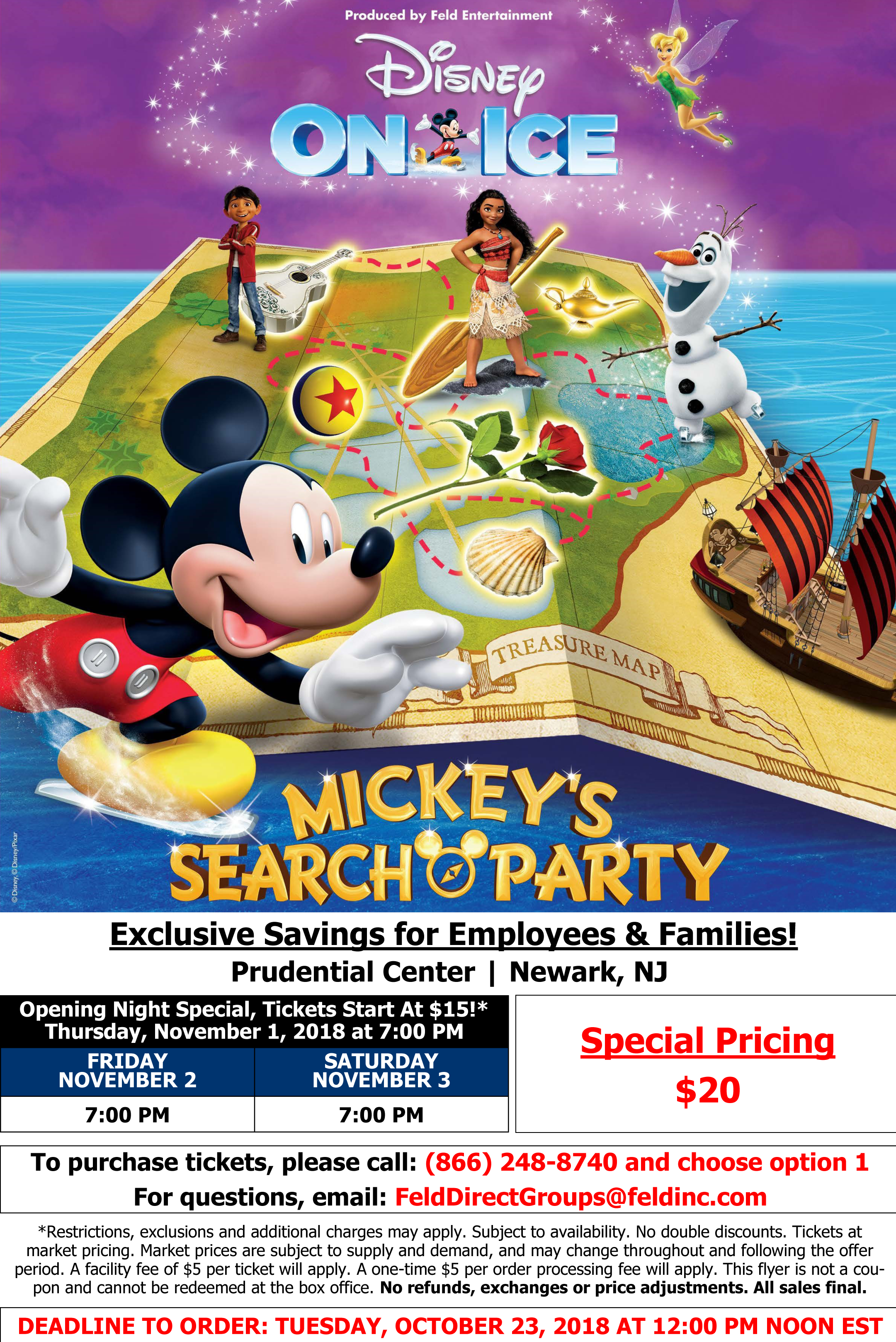 Disney On Ice: Mickey's Search Party - The Meadowlands ... on cast disney map, disney princess map, disney frozen map, pink map, disney dumbo map,